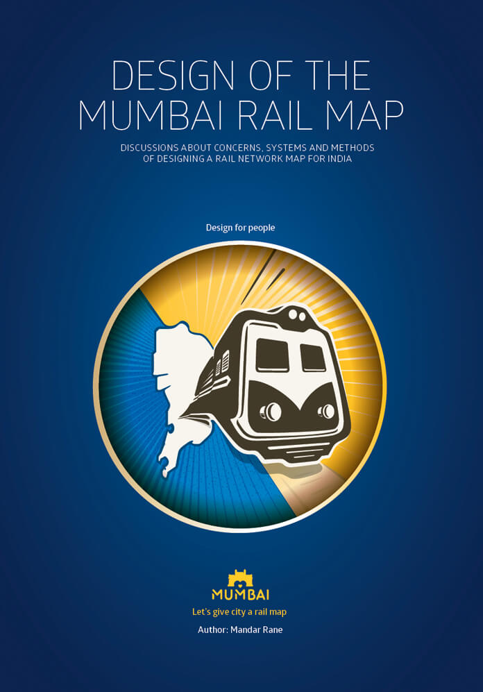 Design of the Mumbai Rail Map Book
