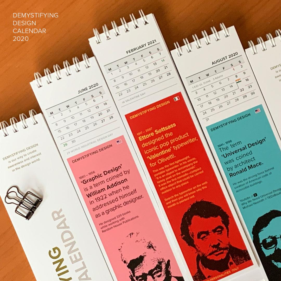 Demystifying Design Calendar