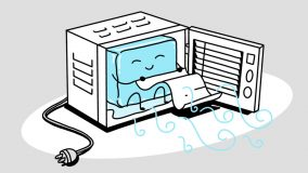 Window Air conditioner illustration