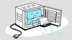 Window Air conditioner illustration