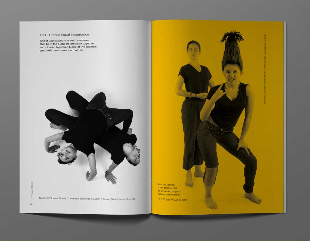 Image: Visual Order Research Paper Booklet inside pages